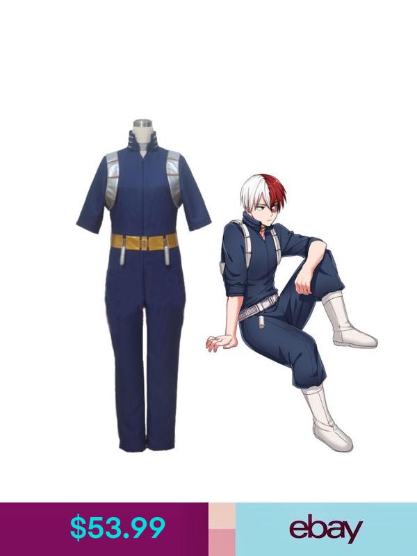 Bnha Shoto Todoroki Cosplay Costume Uniform Cosplay Costumes Todoroki Cosplay Full Body Costumes