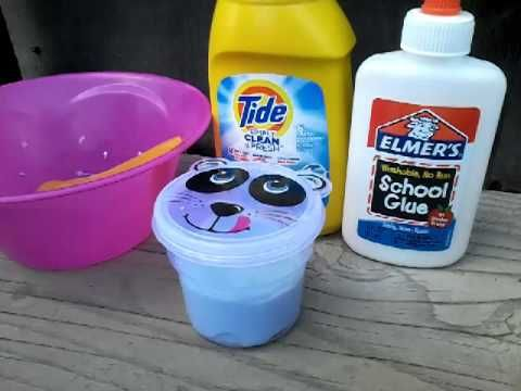 Diy basic tide slime recipe fast easy tutorial only 2 how to make slime with tide and glue ccuart Image collections