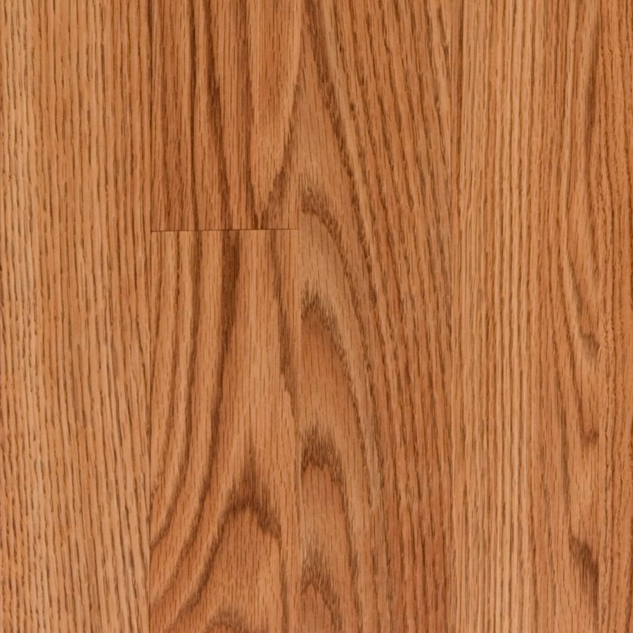 Style Selections Toffee Oak 8.07in W x 3.97ft L Embossed