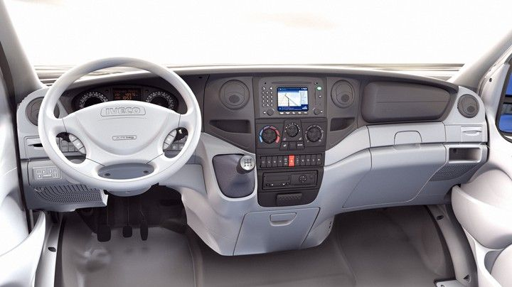 Virtual new Daily truck interior for Iveco spa. Printed marketing ...