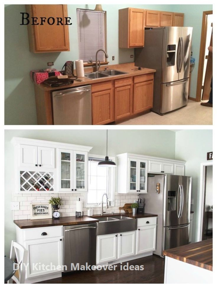 11 Diy Ideas For Kitchen Makeover Kitchen Remodel Small Kitchen