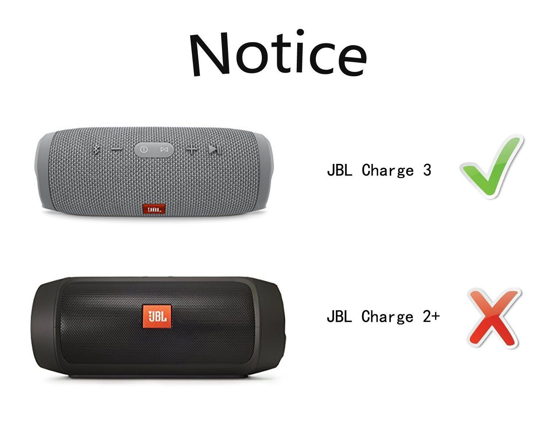 Ltgem Eva Hard Case For Jbl Charge 3 Waterproof Portable Bluetooth Speaker Travel Protective Carrying Bluetooth Speakers Portable Bluetooth Speaker Portable
