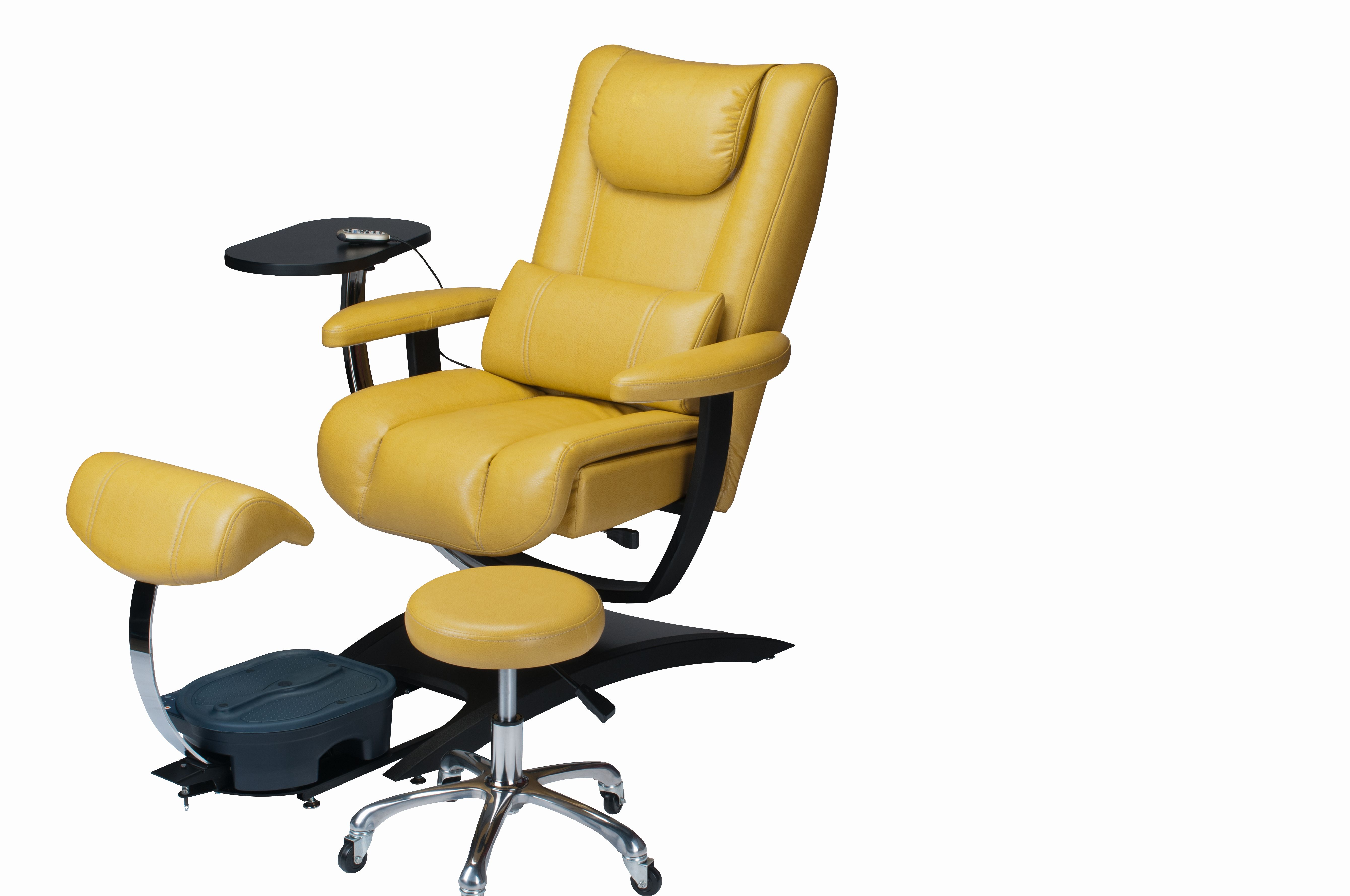 Used No Plumbing Pedicure Chair Posture For Home Endless Custom Color Choices