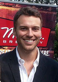 Rookie Blue. Description de l'image Peter Mooney (Canadian actor).jpg.