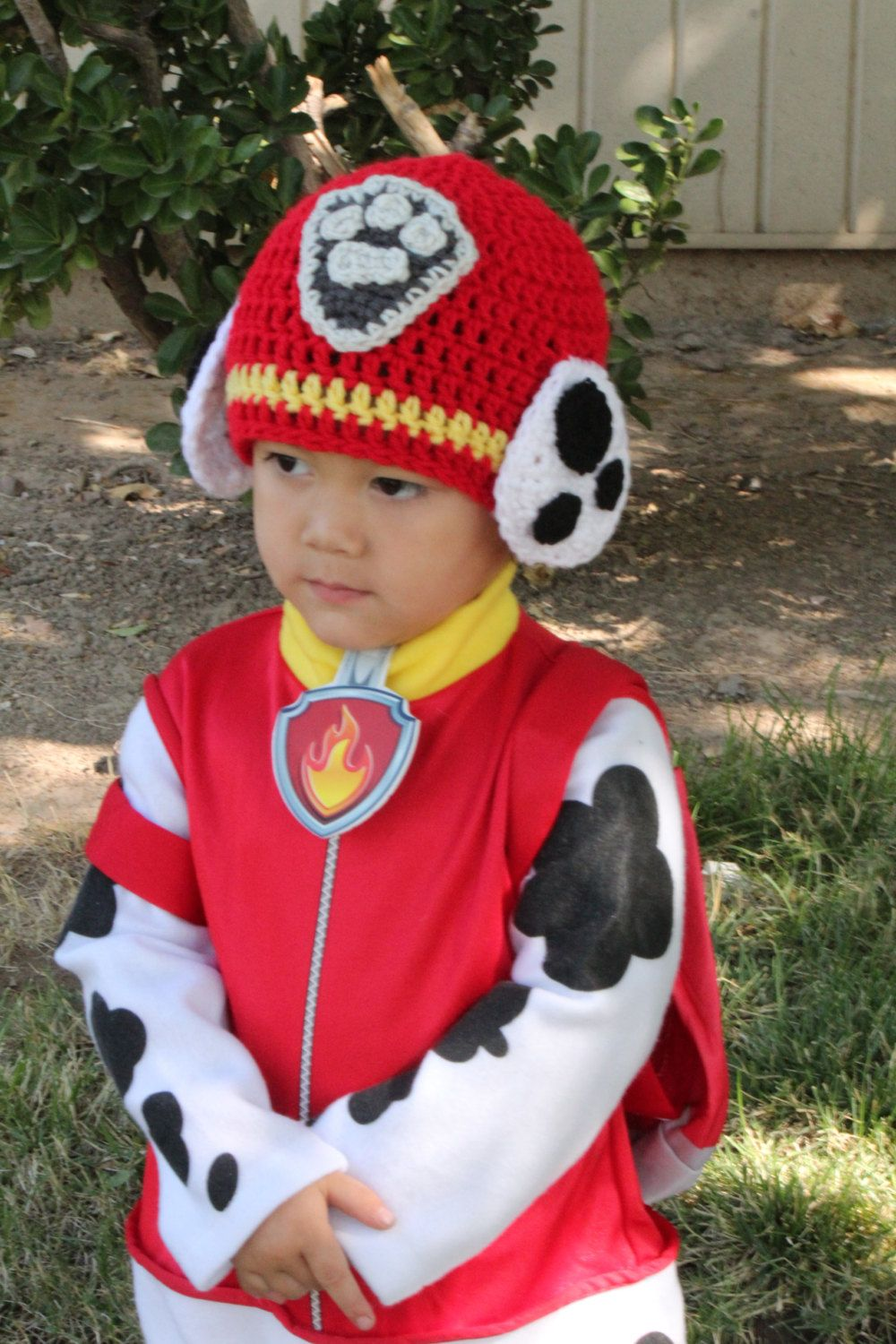Paw Patrol Inspired Hat by SweetsCollection on Etsy | touca crochê ...