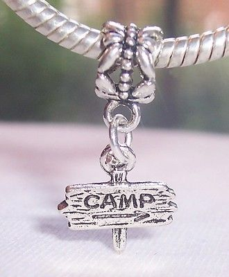 Camp Charms Pandora Beads Bracelets Beaded Charm