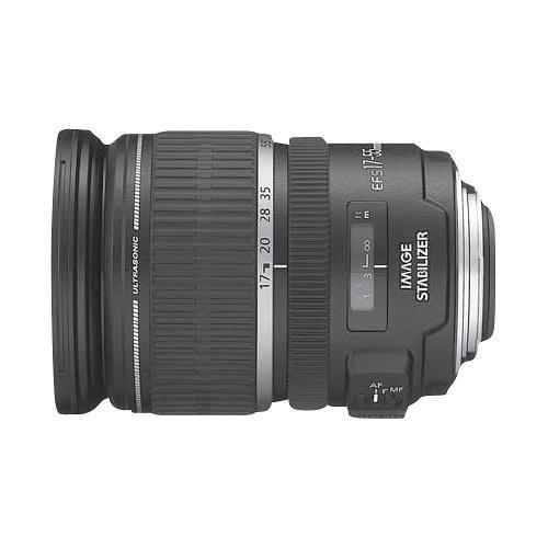 Canon Ef S 17 55mm F 2 8 Is Usm Standard Zoom Lens Black Standard Zoom Lens Zoom Lens And Lens