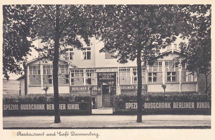 Restaurant und Kaffee Dannenberg, Berlin-Heiligensee Um 1930