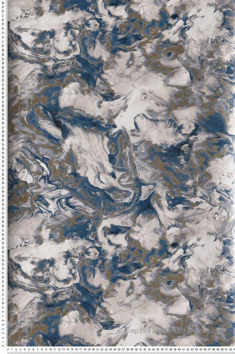 GRANDECO Motif Rayé Papier Peint Métallique Paillettes Motif en Relief Texturé