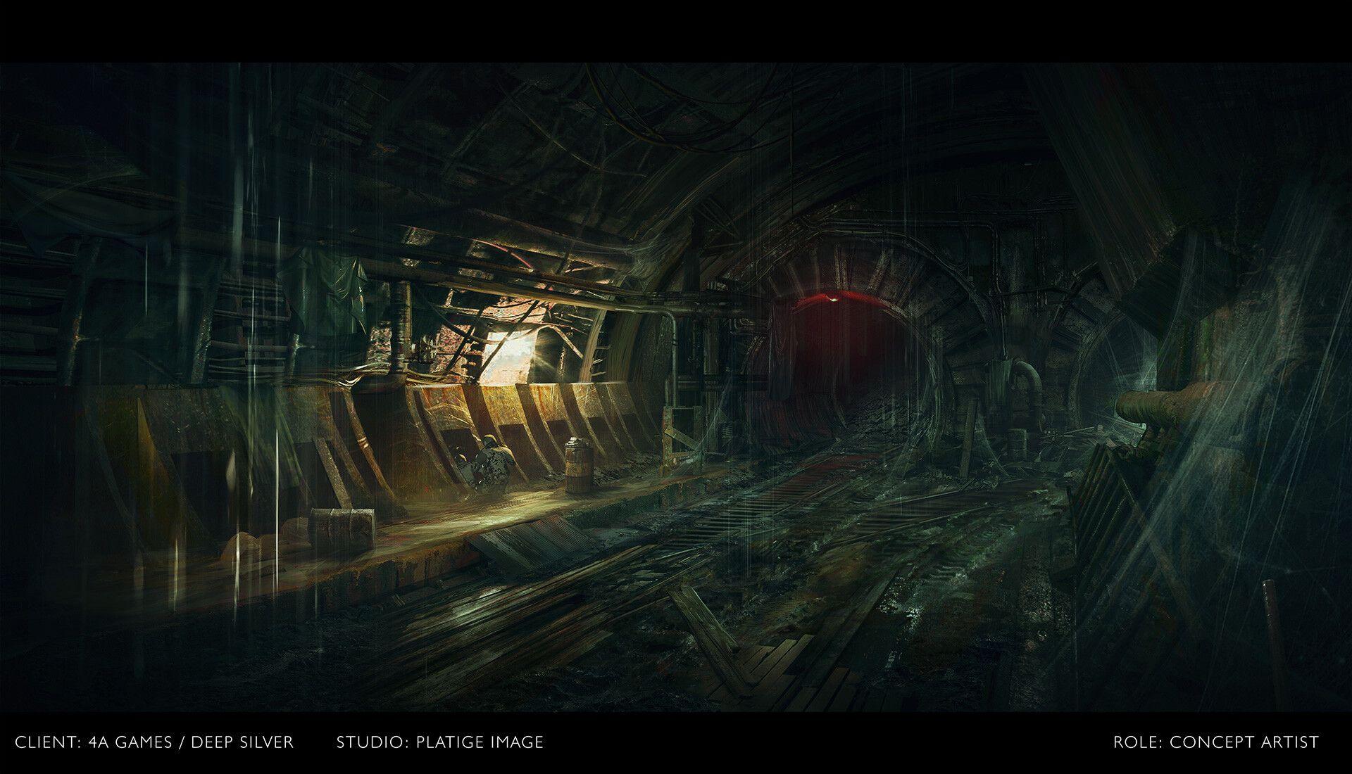 Artstation Metro Exodus Artyom S Nightmare Cinematic Trailer Maciej Drabik Cinematic Trailer Metro 2033 Metro