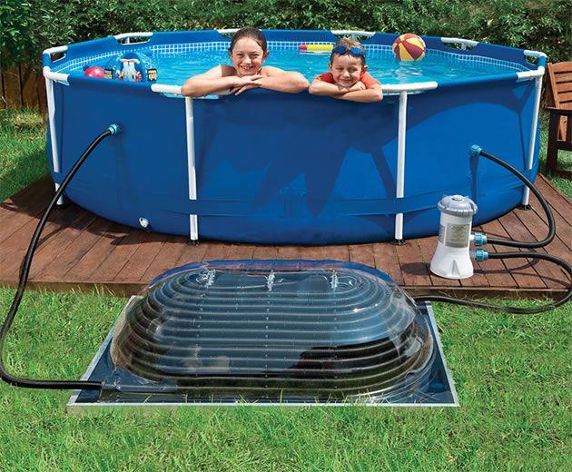 Low Budget Homemade DIY Swimming Pools | Solar pool heater ...