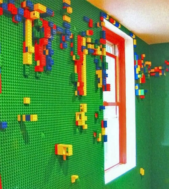 7 Creative Kids\u0027 Room Ideas Lego wall, Kids rooms and Lego