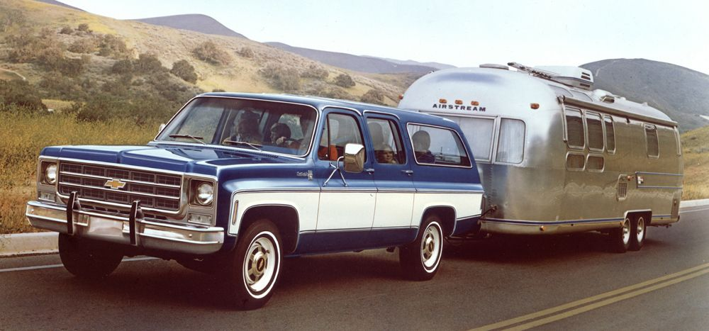 1976 chevrolet suburban my dream trailer pinterest