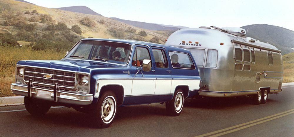 1976 chevrolet suburban my dream trailer pinterest