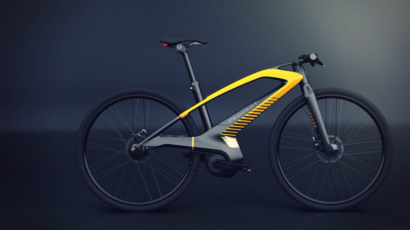 Discover the edl132 peugeot s concept bike whose design will definitely surprise