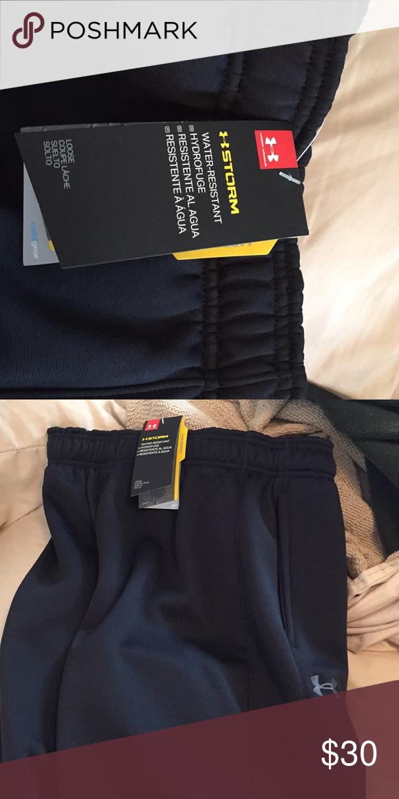 Details about  /Under Armour Men LAUNCH SW Split Pants Black Casual GYM Sweat-Pant 1326570-002