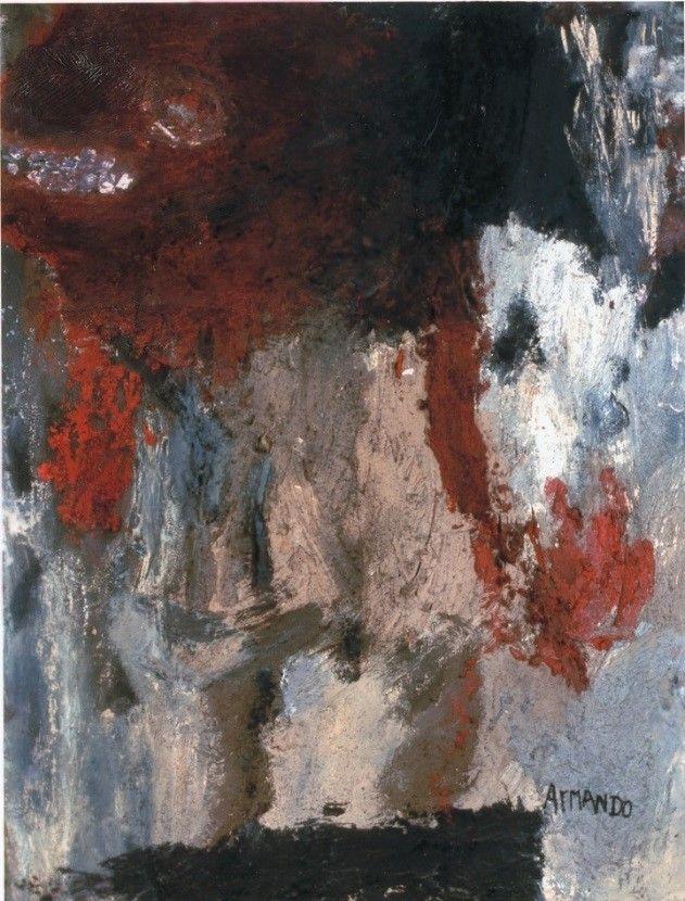 Armando – Peinture Criminelle, gemengde techniek, 1956