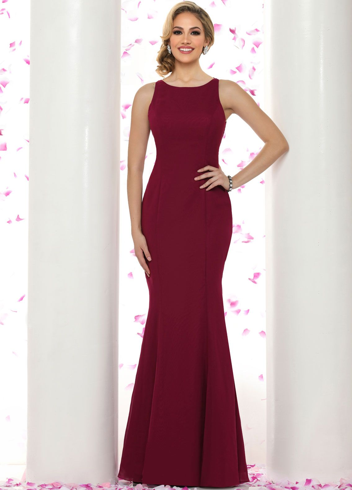 A black tie wedding calls for grand attire for your favorite ladies