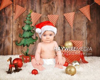 Newborn, Baby, Toddler, Child, Christmas Present Photography Digital Backdrop Prop for Photographers #backdropsforphotographs