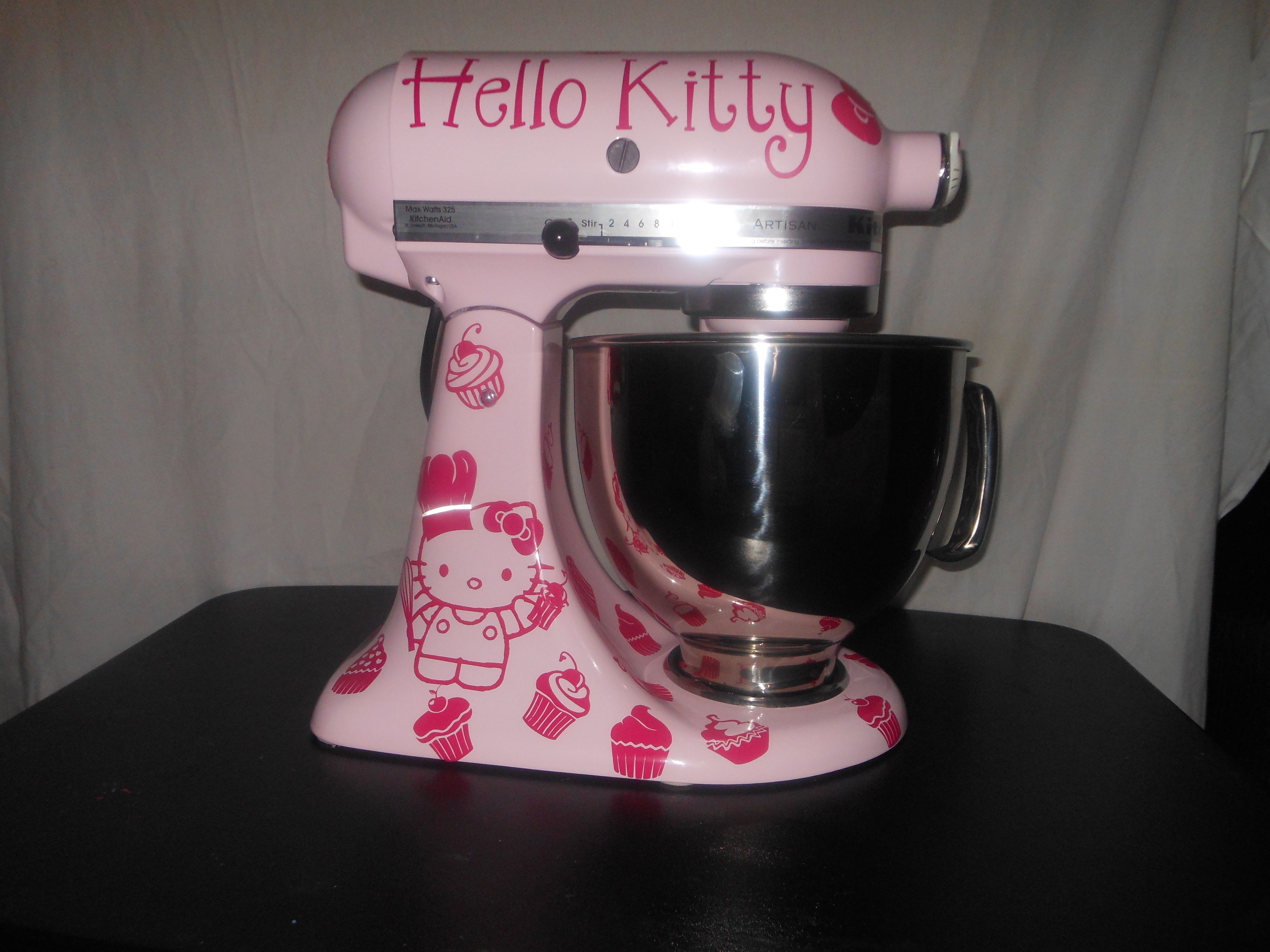 Hello Kitty Mixer, Im Adding Leopard Print