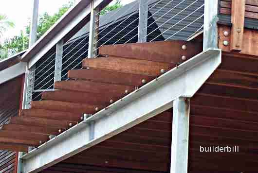 Building steel frame homes! Pretty Cool, huh! | Metal deck, Deck ...