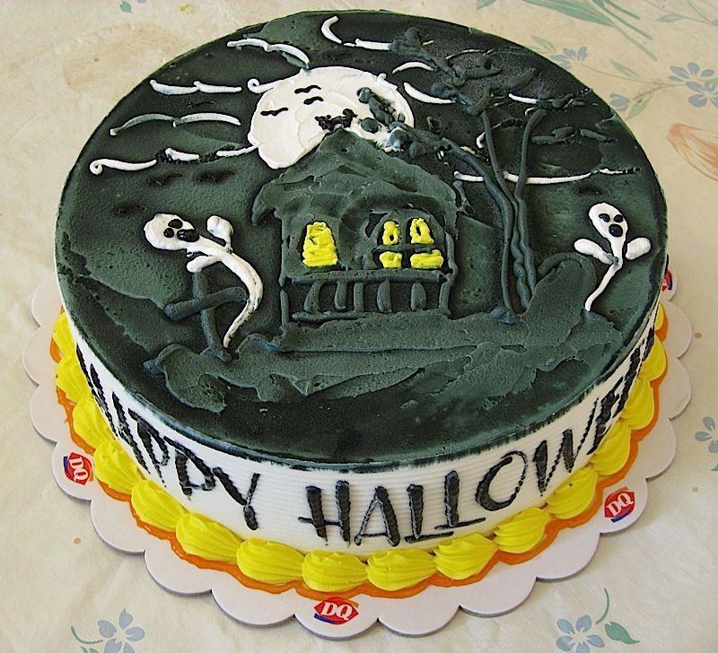 Dairy Queen Halloween ice cream cake