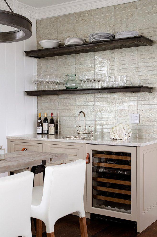 Bar Shelving Ideas Home Beach Style With Undercounter Refrigerator Roark 30 Modular Ring Chandelier