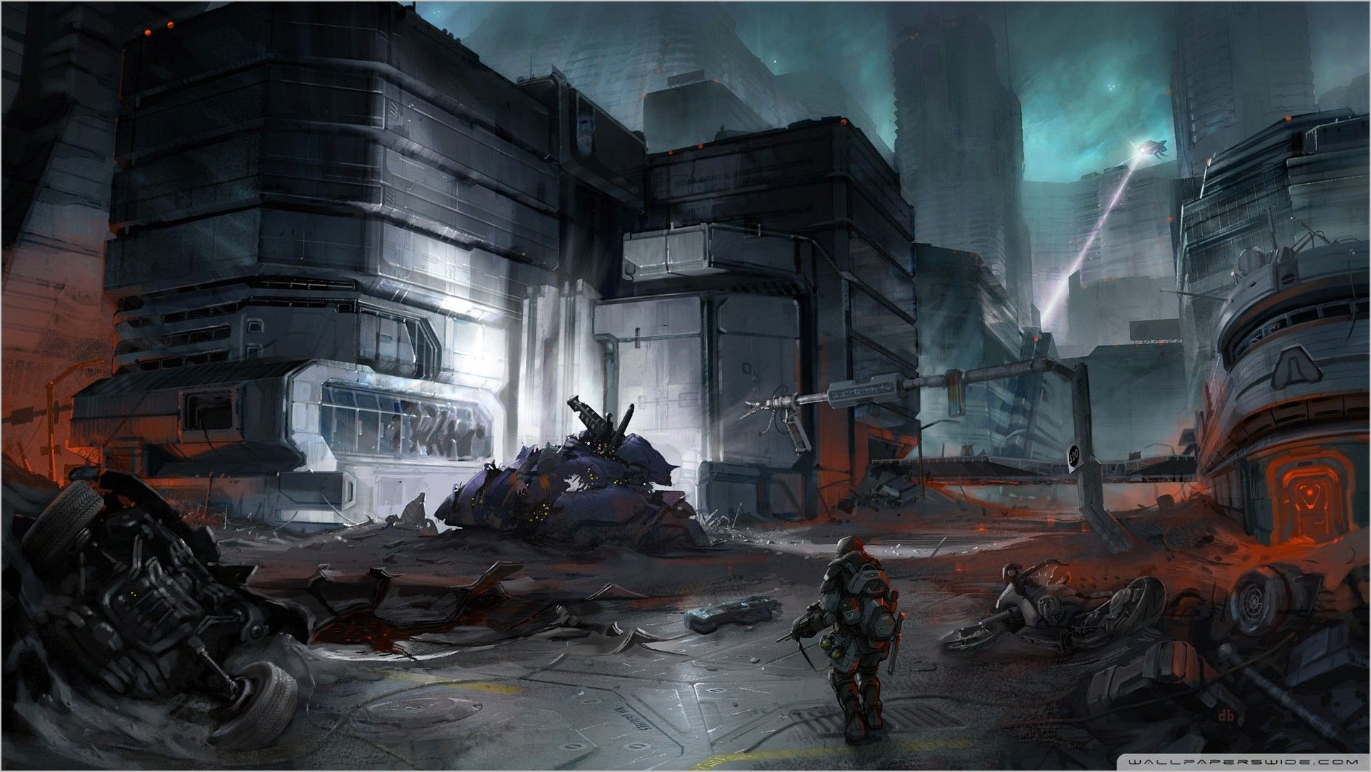 Halo 3 Odst Wallpaper 4k In 2020 Halo 3 Odst Halo Halo Game