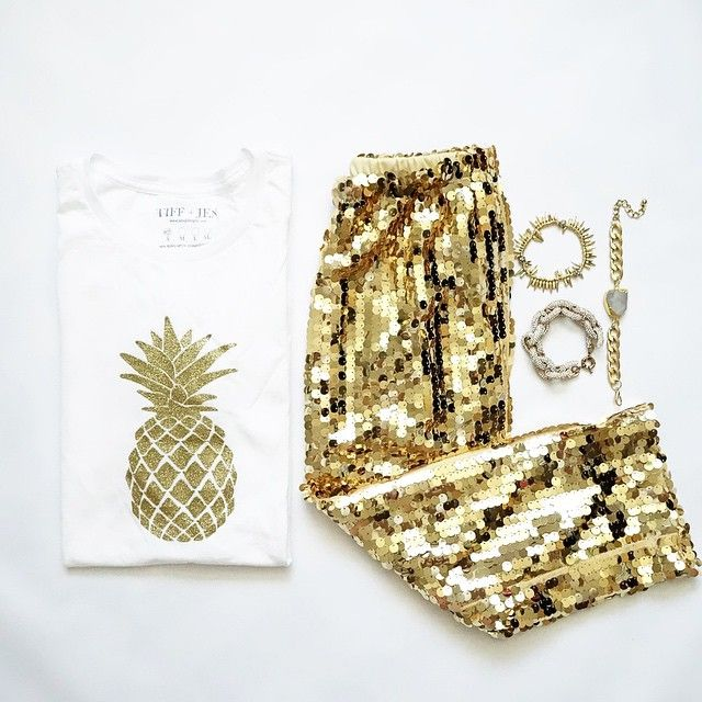 Pineapple + Sequins