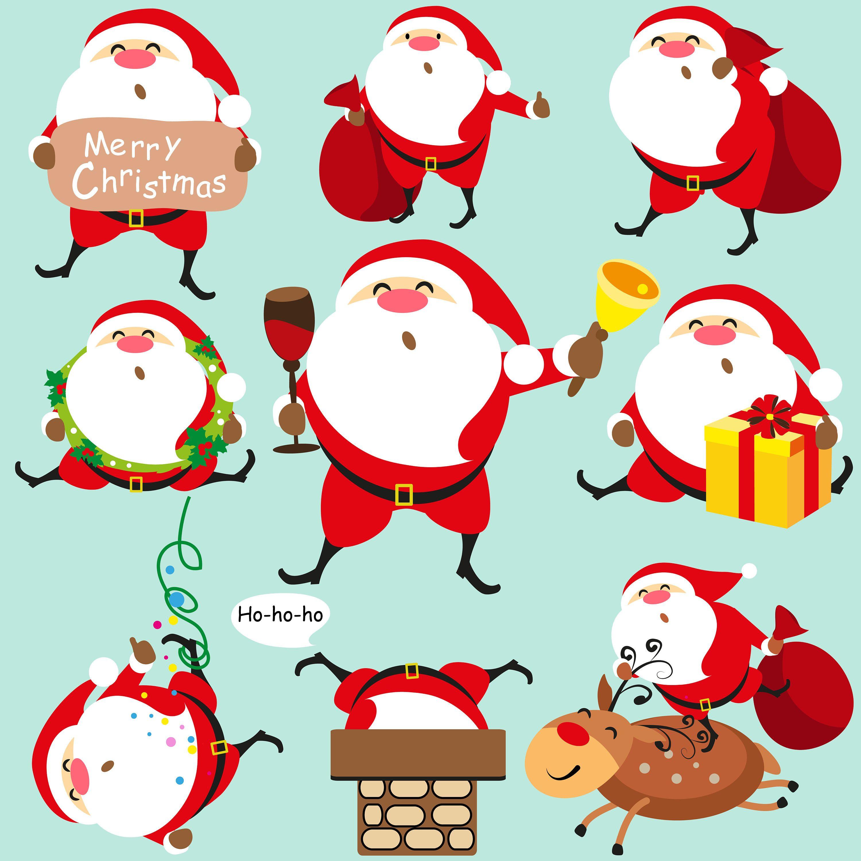 On Sale Christmas Santa Clip Artchristmas Border Clip Art Etsy Clip Art Borders Christmas Settings Christmas Border