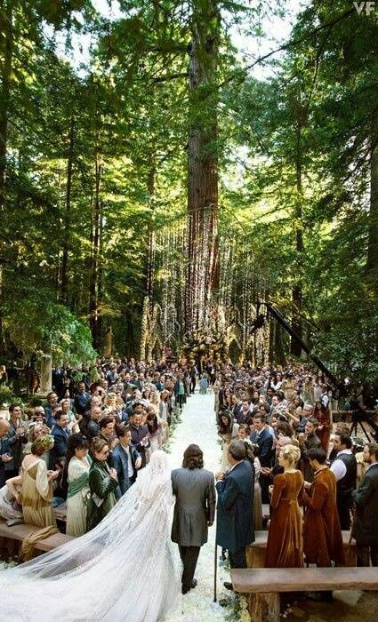 Enchanted Forest Wedding This Would Be A Beautiful I Want