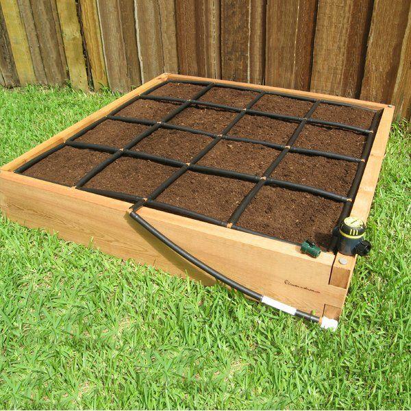4 Ft X 4 Ft Cedar Wood Raised Garden Raised Garden Bed 400 x 300
