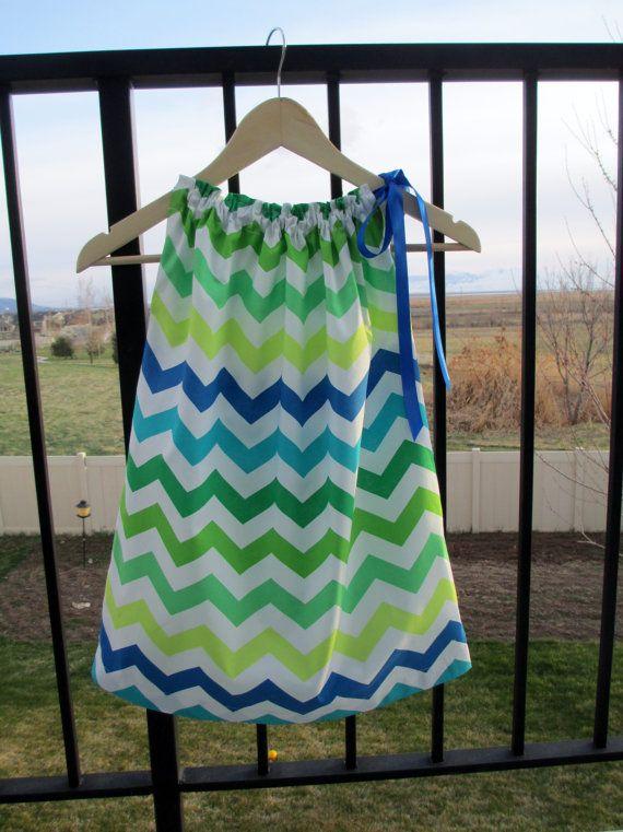 Summer girl, toddler, designer baby green, aqua, blue, white ...