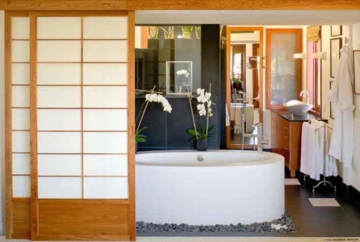 Japanese Sliding Door Bathroom Specialtydoors Com Bath