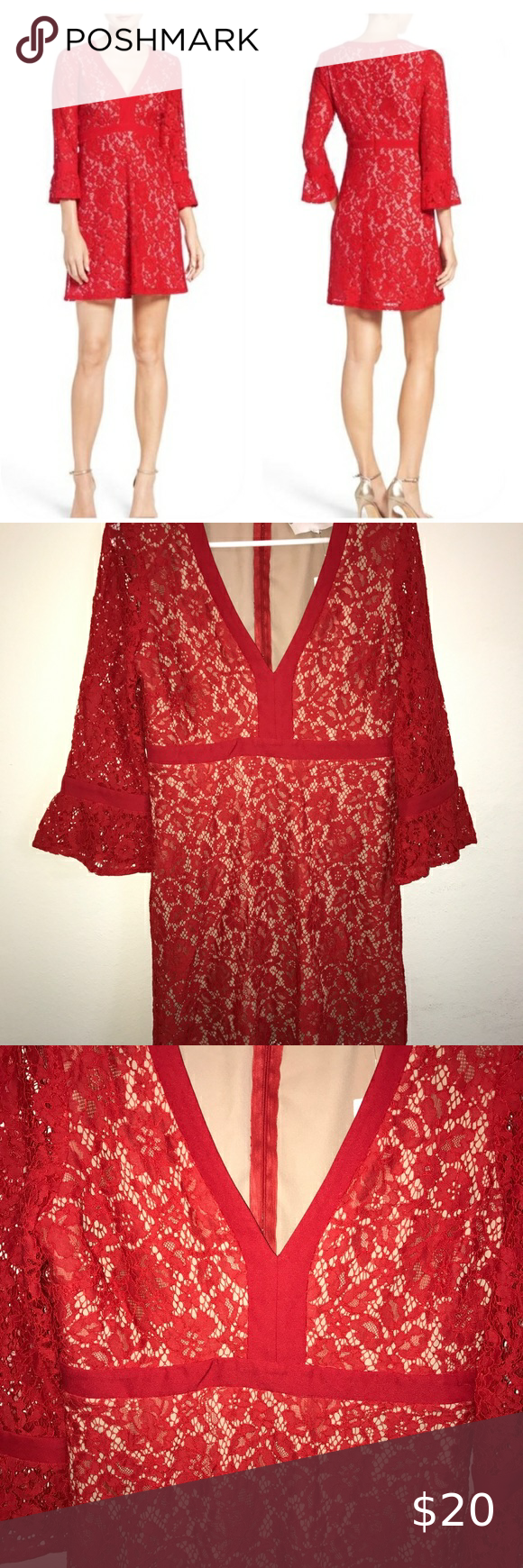 Copy Nordstrom Charles Henry Lace Red Dress Red Lace Dress Red Dress Nordstrom Dresses [ 1740 x 580 Pixel ]