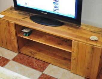 meuble tv bois de palettes - Meubles En Bois De Palettes