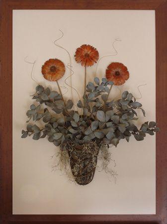 Three flower bouquet  (27.5″ x 37.5″)