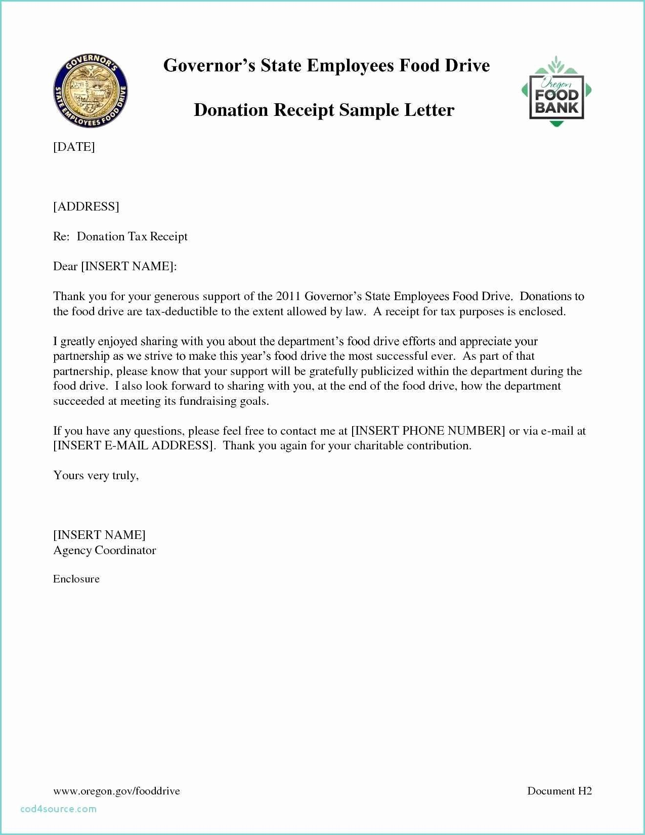 Charitable Donation Letter Template Luxury 030 Donation