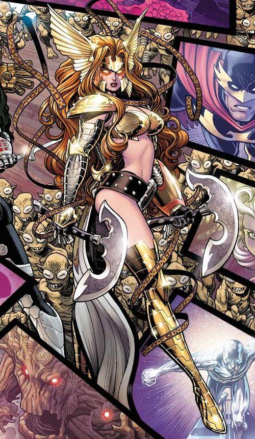 angela character comic vine marvel comics pinterest comic
