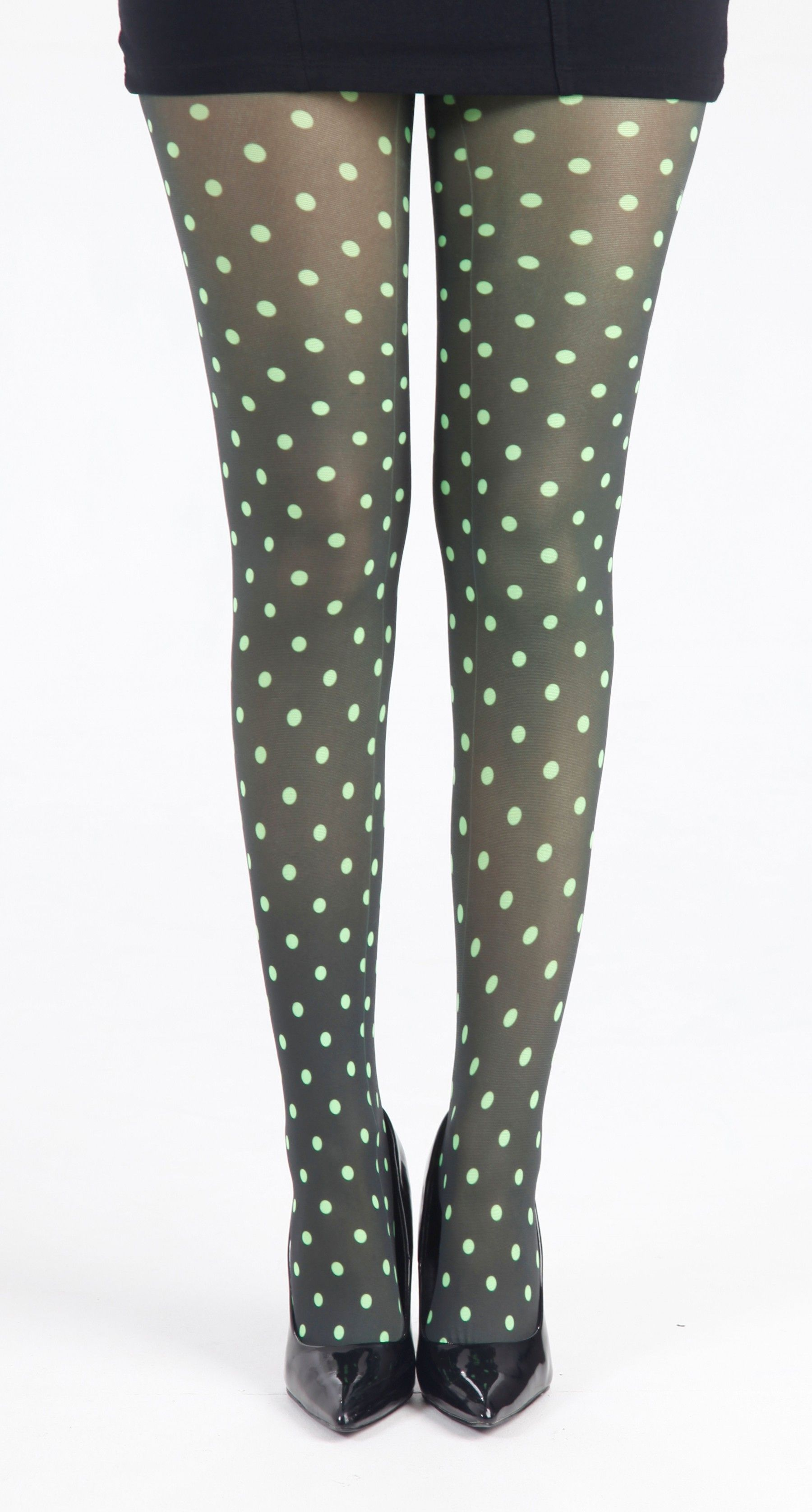 Polka Dot B Printed Tights (Flo Green) - Pamela Mann - Shop these tights at @fashion_tights_styles www.fashion-tights.net #tights #pantyhose #hosiery #nylons #tightslegs #tightsfeet #tightslover #tightsblogger #tightsfashion #pantyhoselegs #pantyhosefeet #pantyhoselover #pantyhoseblogger #pantyhosefashion #nylonlegs #nylonfeet #nylonlover #nylonblogger #nylonfashion #hosierylover #hosierylegs #hosieryfeet #hosieryblogger #hosieryfashion #legs