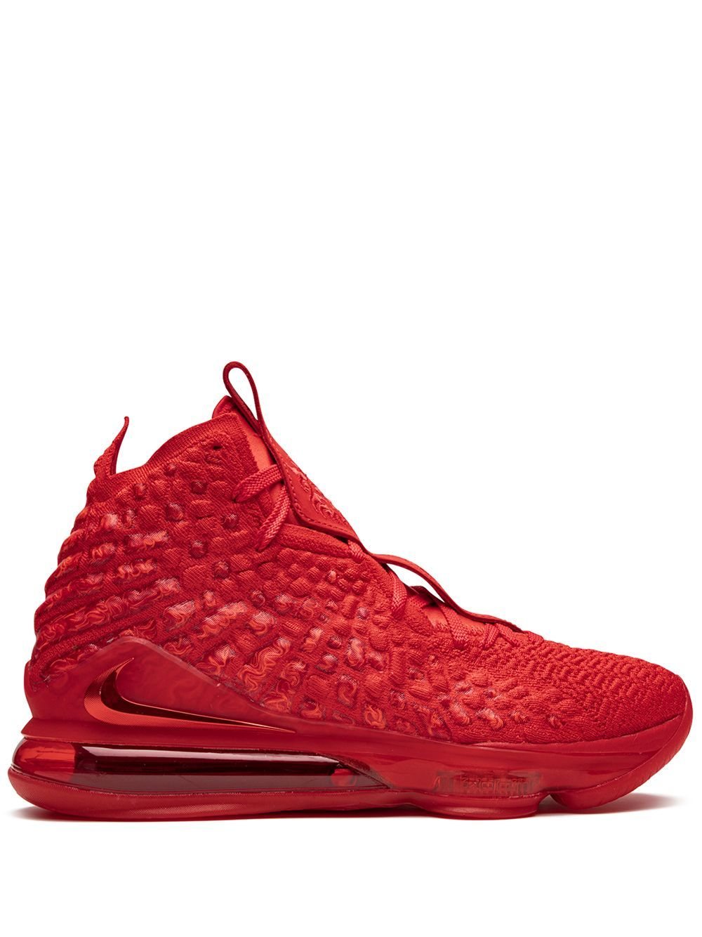 Nike LeBron 17 Sneakers - Farfetch   Red nike shoes, All red nike ...