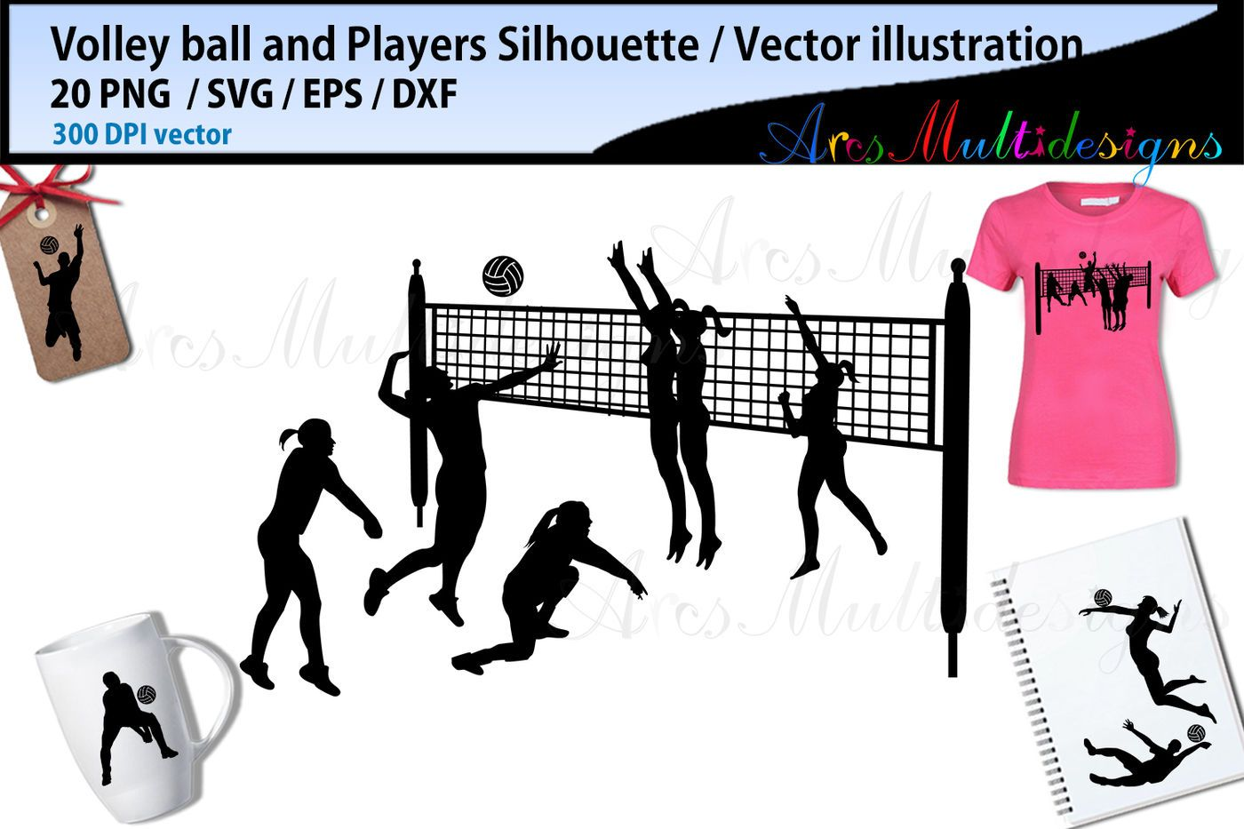 Volley Ball Volley Ball Silhouette Volley Ball Players Vector By Arcsmultidesignsshop Thehungryjpeg Com Volley Sponsored Silhouette Volley Ball Ad Nel 2020