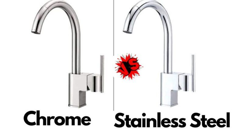 Chrome Vs Stainless Steel Faucet Which Is Better Kitchen Faucet Blog In 2020 Stainless Steel Faucets Kitchen Faucet Best Kitchen Faucets