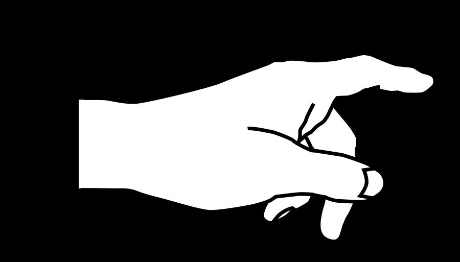 Hand Pointing Finger Clipart Vector Clip Art Online Royalty Pointing Hand Clip Art Pointing Fingers