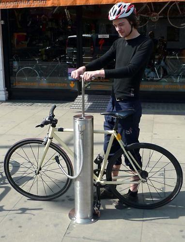 Cyclehoop Bring Municipal Bike Pumps To London S Streets Bike