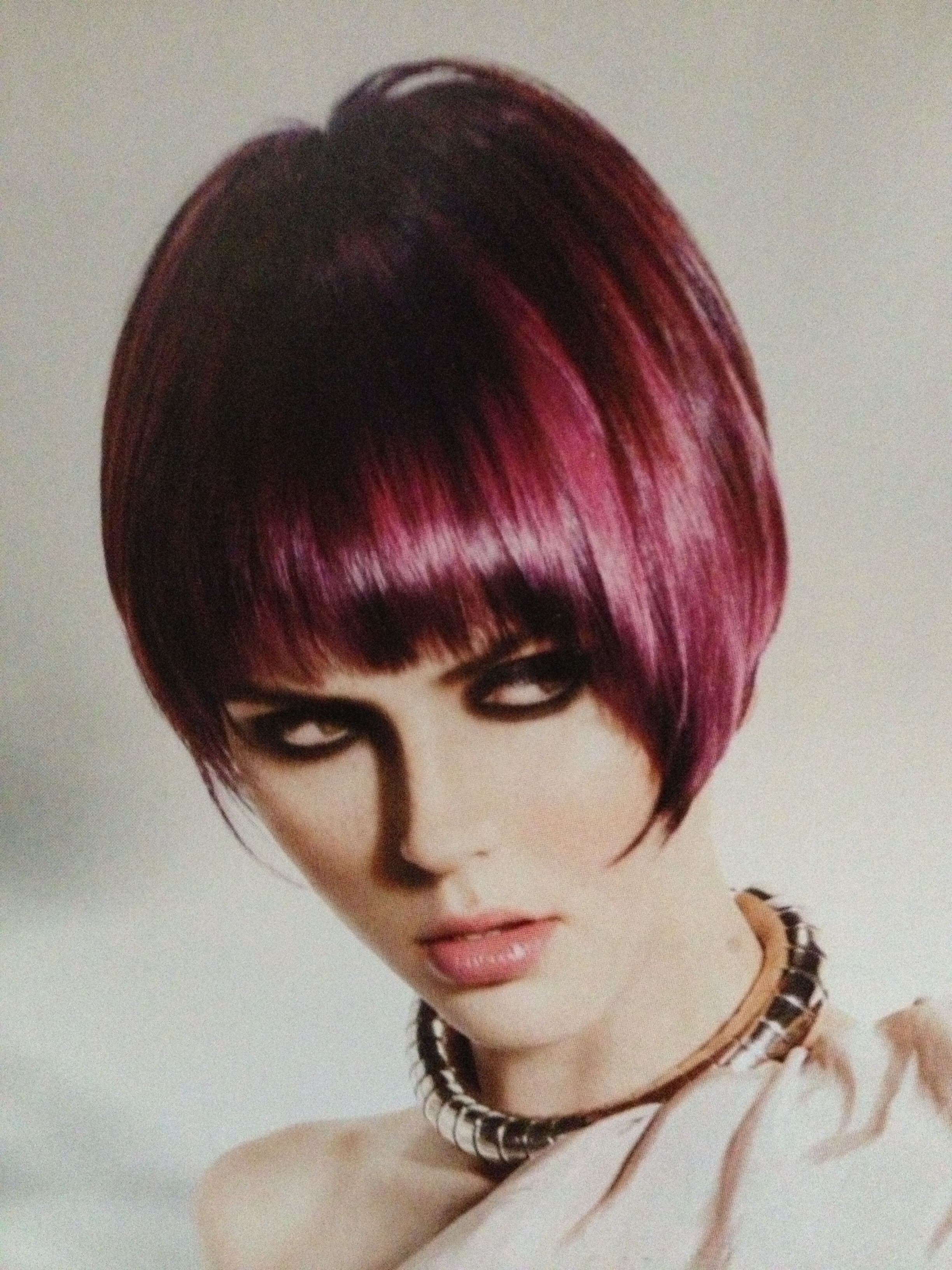 Red violet hair look book pinterest violet hair colors and hair