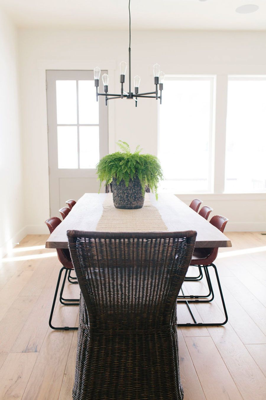 Kimball Dining Room Furniture Enchanting Tour A Home That Checks All Our Favorite Design Trend Boxes Inspiration