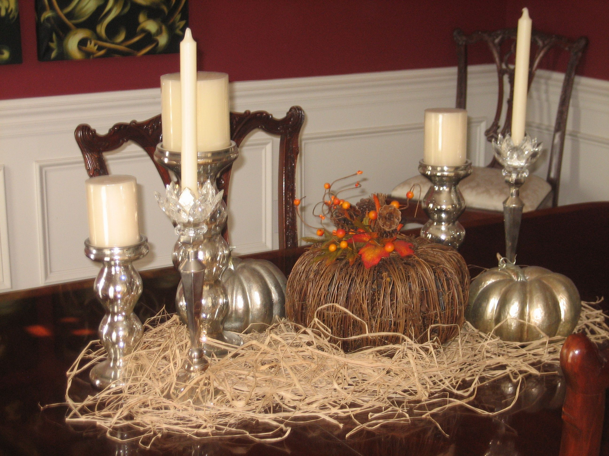 Mary's Thanksgiving Table. My favorite!
