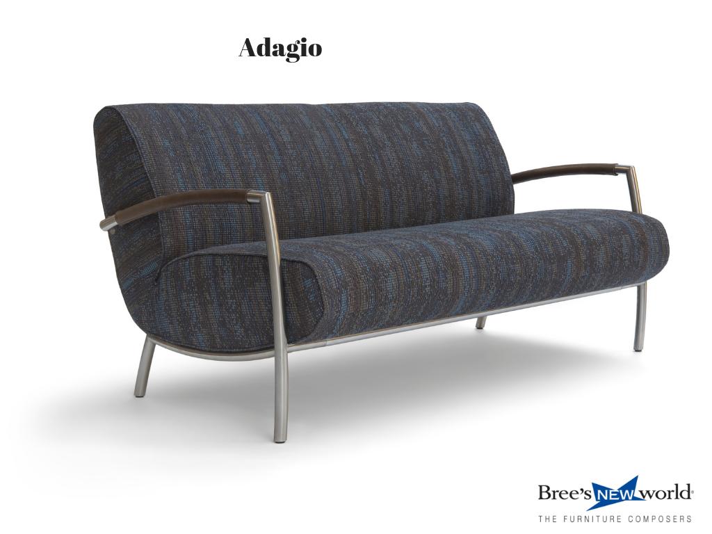 Design Bank Stof.Design Bank Adagio Van Bree S New World In Stof Bank Interieur