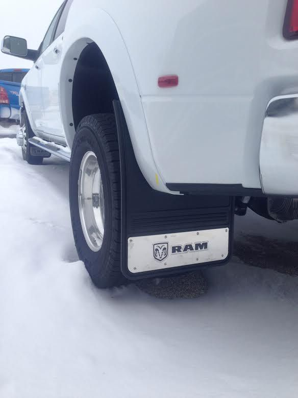 Dodge Ram Dually Mud Flaps